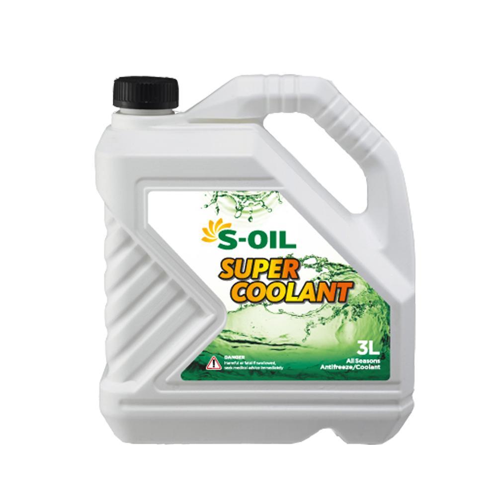 Nước làm mát S-OIL Super Coolant 3L