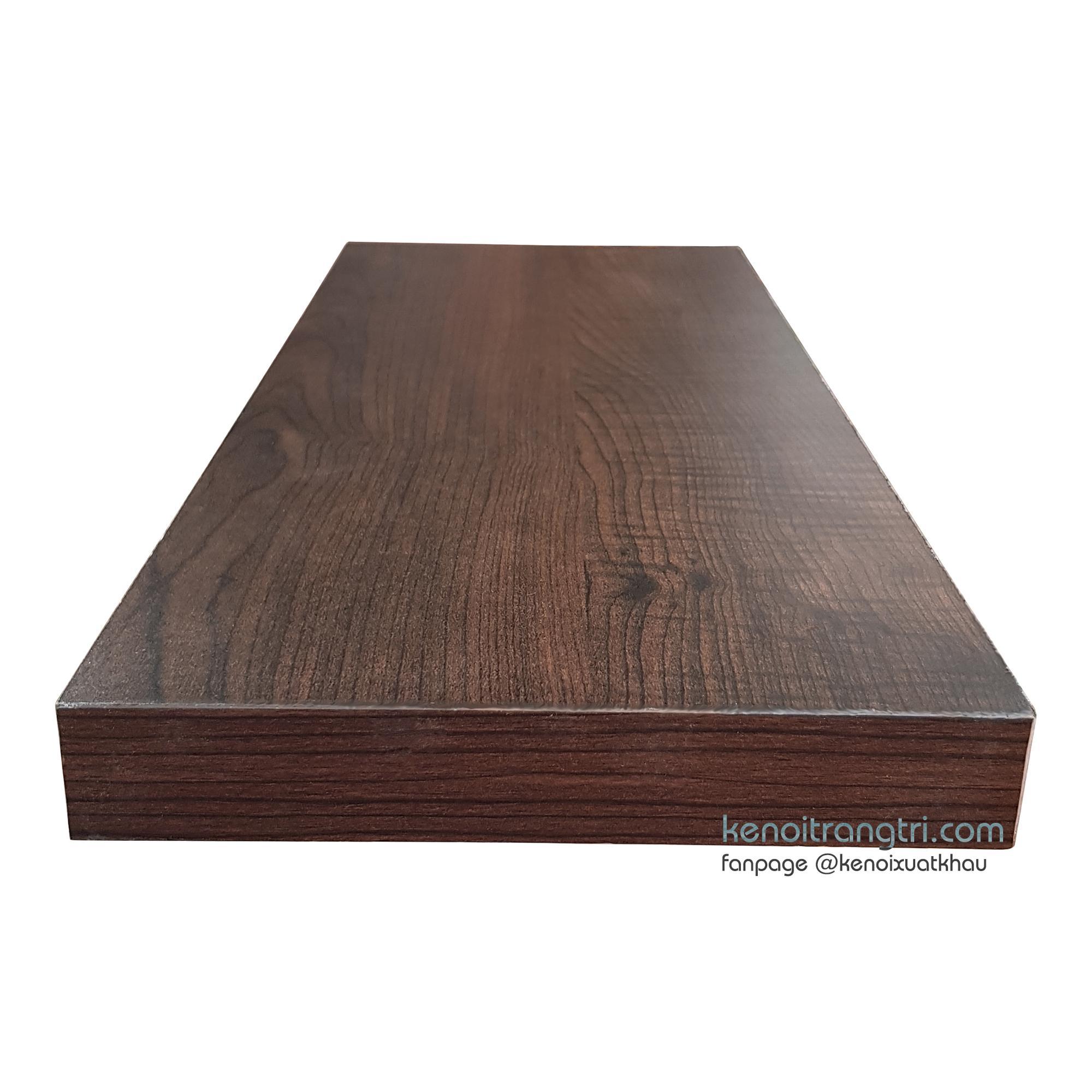 Kệ nổi 1 thanh 45 * 19.5 * 3 cm Modo Cherry Wood (Gỗ anh đào)