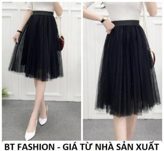 Chân Váy Xòe Lưới Duyên Dáng Thời Trang Hàn Quốc - BT Fashion (VA01) thumbnail