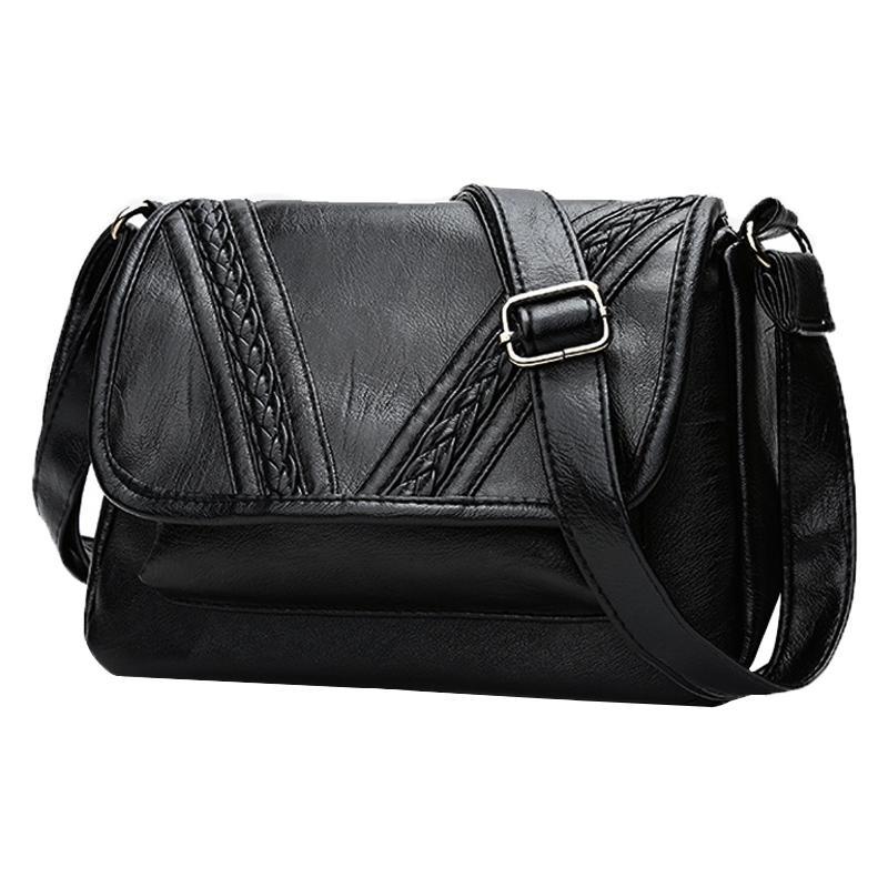 Túi đeo vai nữ da PU cao cấp TL142 mẫu mới 2019 25x15x18cm