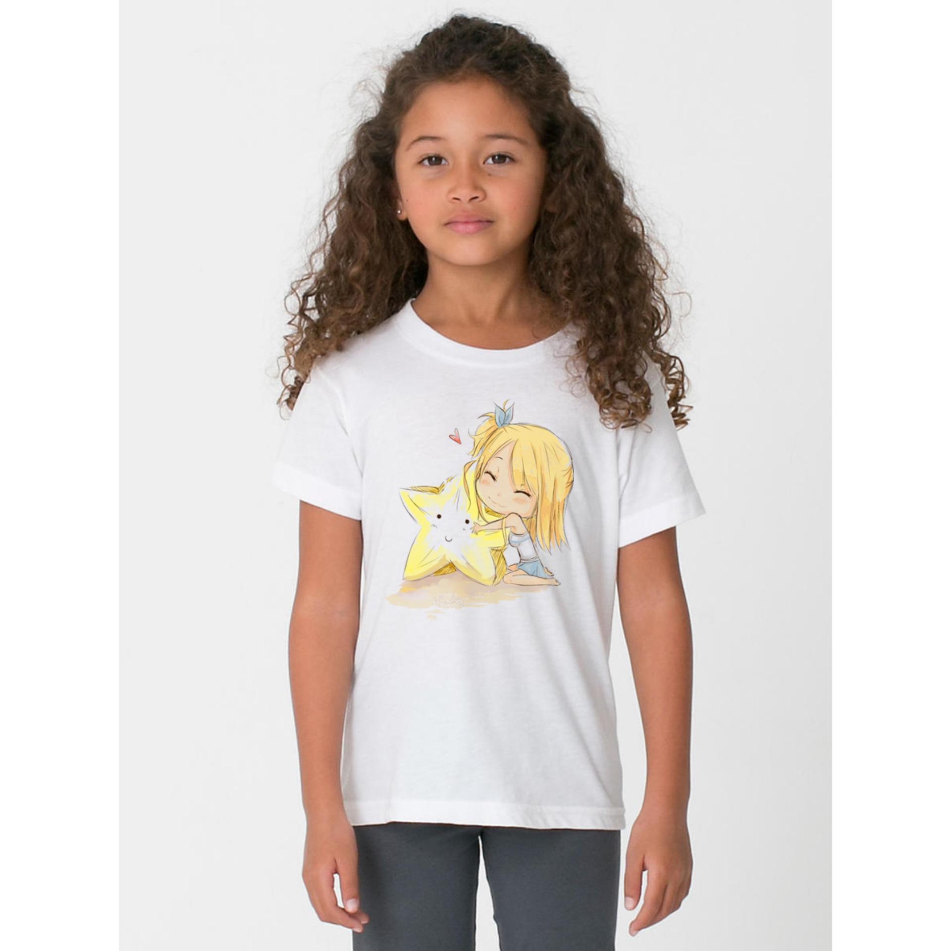 Áo Thun bé gái in hình chất liệu mềm mịn thoáng mát VNBG56