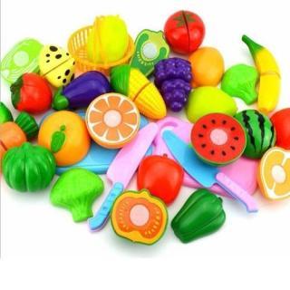 Bộ đồ chơi cắt ghép hoa quả cho bé yêu thumbnail