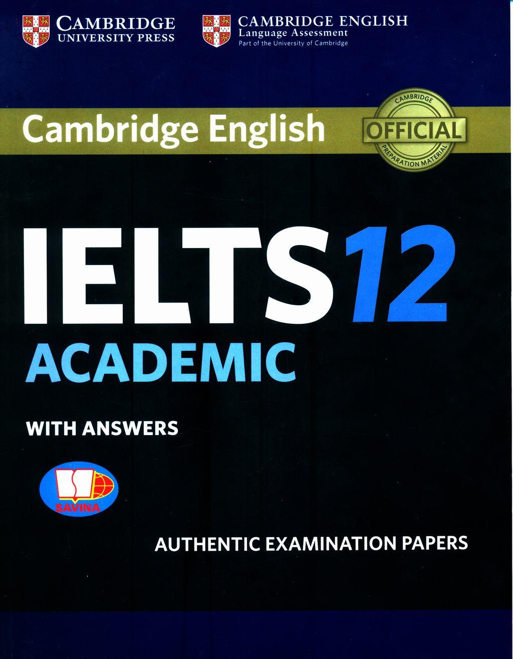 Cambridge IELTS 12 Academic