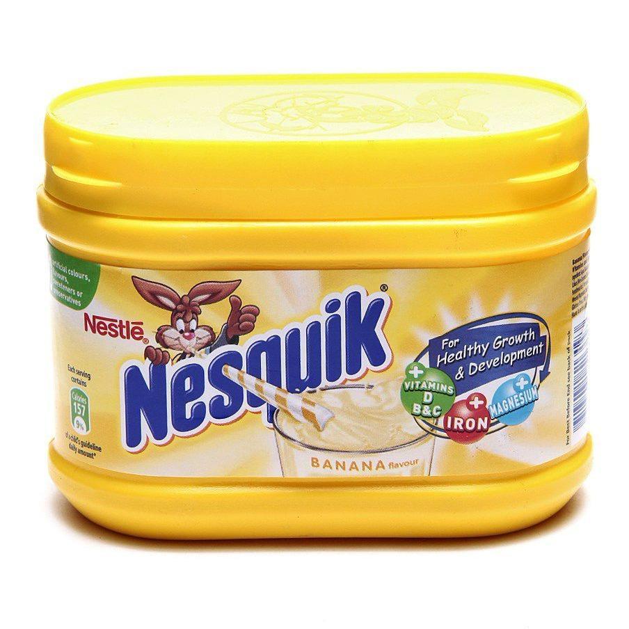 [NK Pháp] Nestle Nesquik 300g Bột dinh dưỡng pha sữa vị chuối