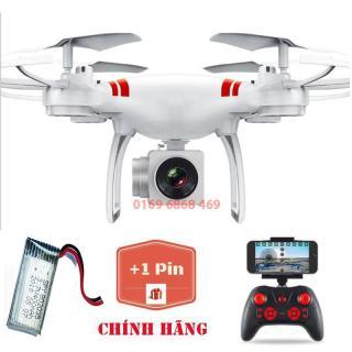 [Bộ 2 pin] Flycam KY101 Máy bay chụp ảnh Selfie, kết nối Wifi với điện thoại + Tặng tay cầm điều khiển từ xa thumbnail