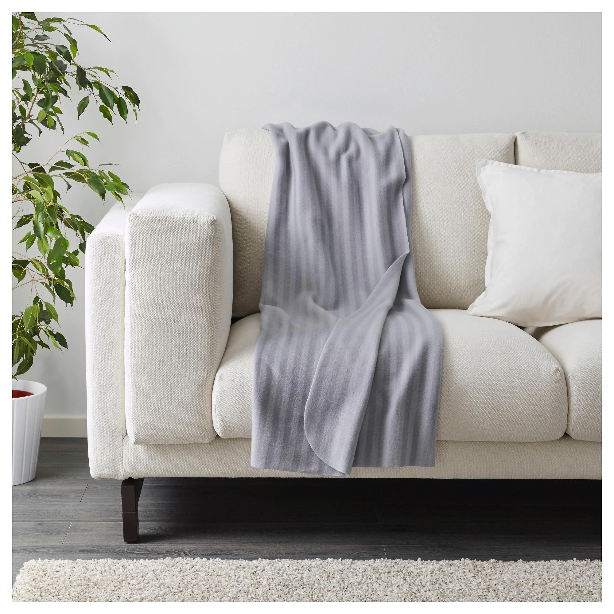 Chăn dạ mỏng văn phòng/ Sofa Ikea VITMOSSA hàng chuẩn( 1m2x1m6 )