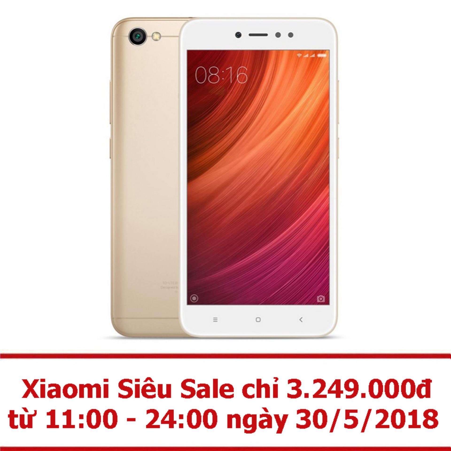 Xiaomi Redmi Note 5A Prime 32GB RAM 3GB (Vàng) -...
