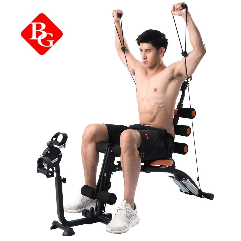 B&G Ghế tập cơ bụng đa năng New Six Pack Care tập hơn 25 động tác