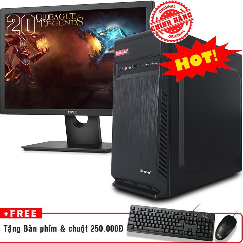 Máy tính chơi game i5 2400 RAM 4GB 500GB (LCD Dell 20 inch)