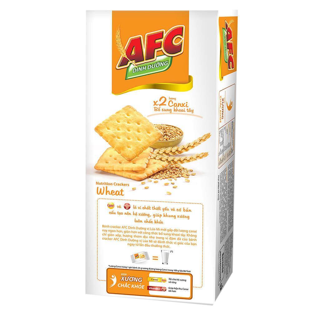 Bánh AFC Dinh Dưỡng Vị Lúa Mì Hộp 200g