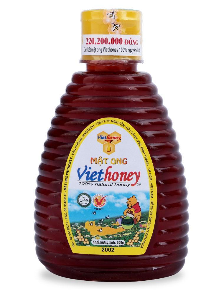 Mật Ong Viethoney Chai 300G