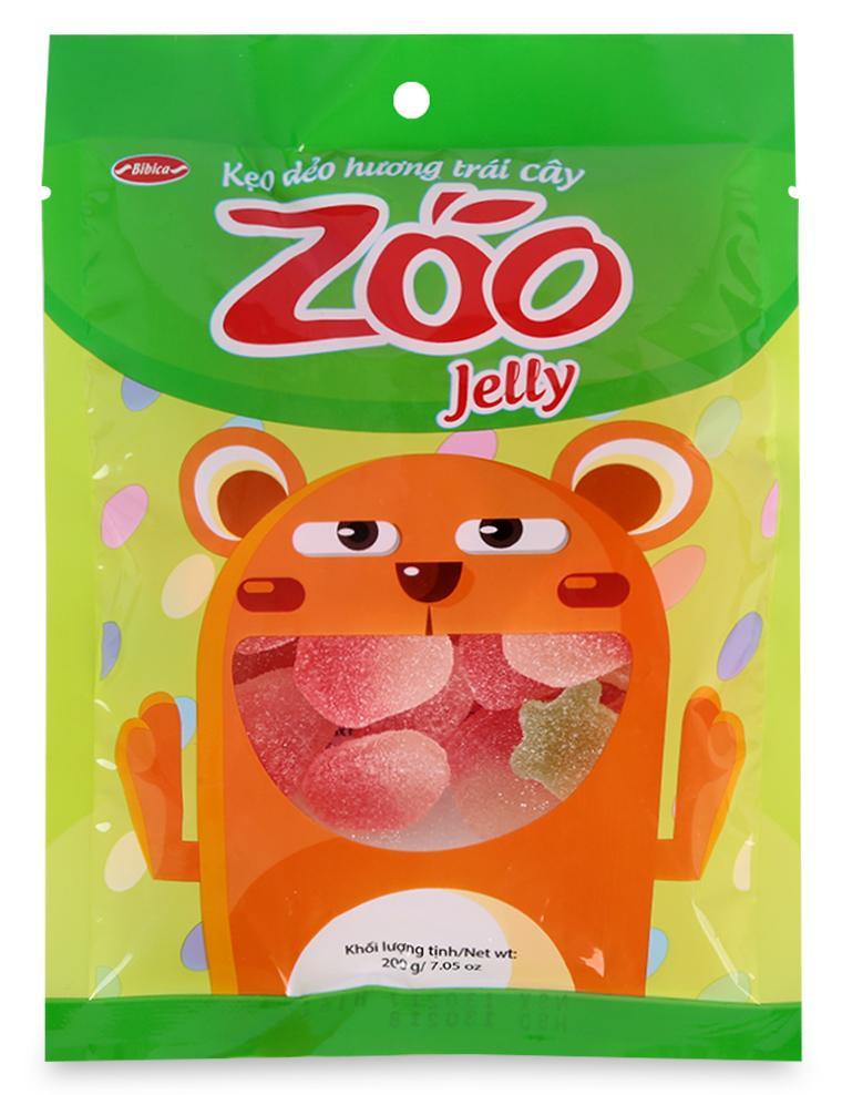 Kẹo Dẻo Áo Đường Hương Trái Cây Zoo 200G