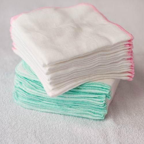Bộ 10 khăn sữa 3 lớp Baby Hà Linh bản...