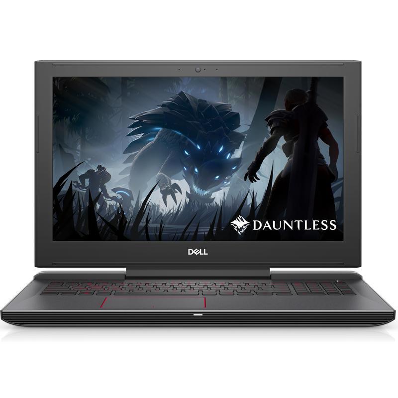 Laptop Dell G5_5587, Core I7 8750H, 128GB SSD + 1TB, 8GB, 4GB GTX1050Ti, 15.6 FHD (Đen) - Hàng Nhập Khẩu