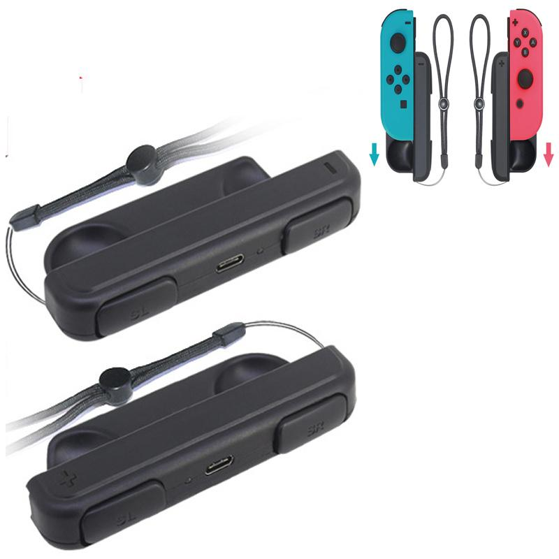 ZDR TM 2pcs Portable Mini Charging Grip Charger Holder for NS Switch Joy-Con - intl