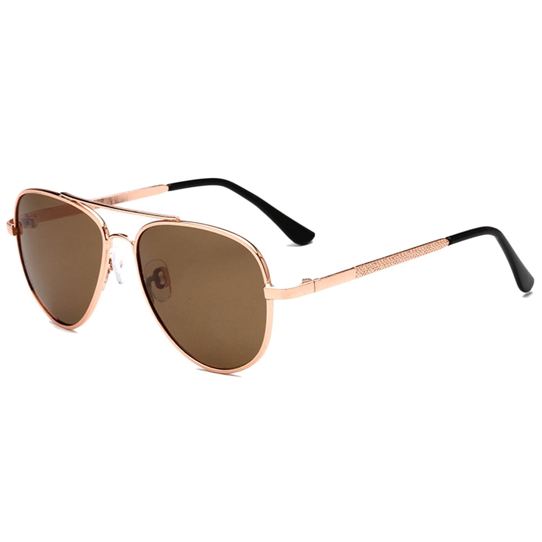 Klasik Pria Wanita Bingkai Logam Kacamata Surya Cermin Terpolarisasi Warna  Lensa Kacamata Hitam untuk Anak- d163a46d94