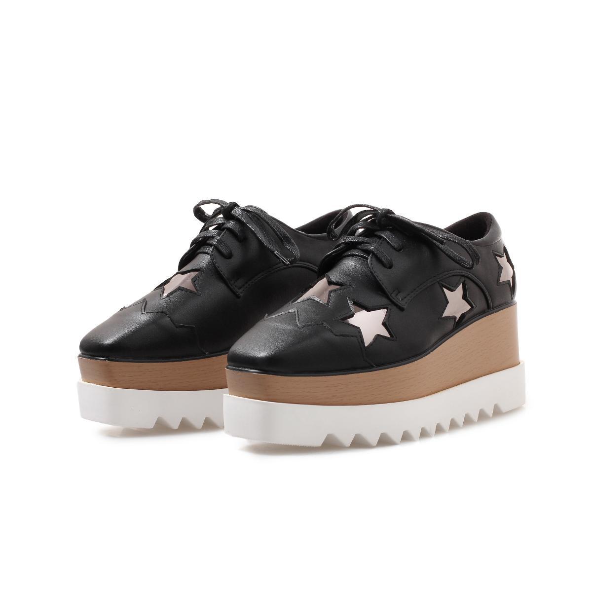 Stella Platform Shoes women Thick