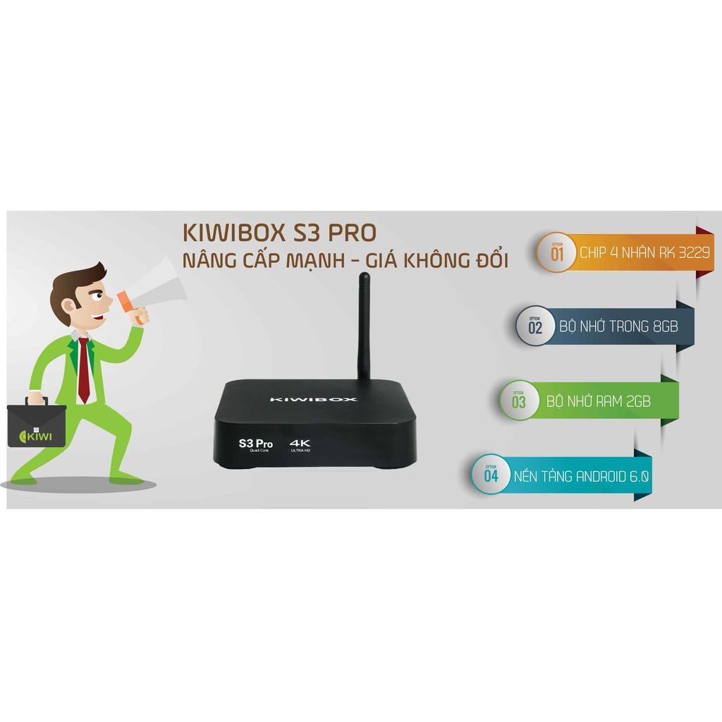 Gia ban tivi-  Android box Kiwi s3 Pro, Tiện lợi, Giao diện thông minh -Nen mua tivi nao, Nen mua tivi nao - Sale Off 50%