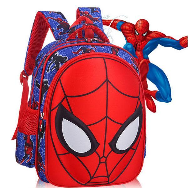 Ba lô siêu nhân nhện 3D cao cấp cho bé