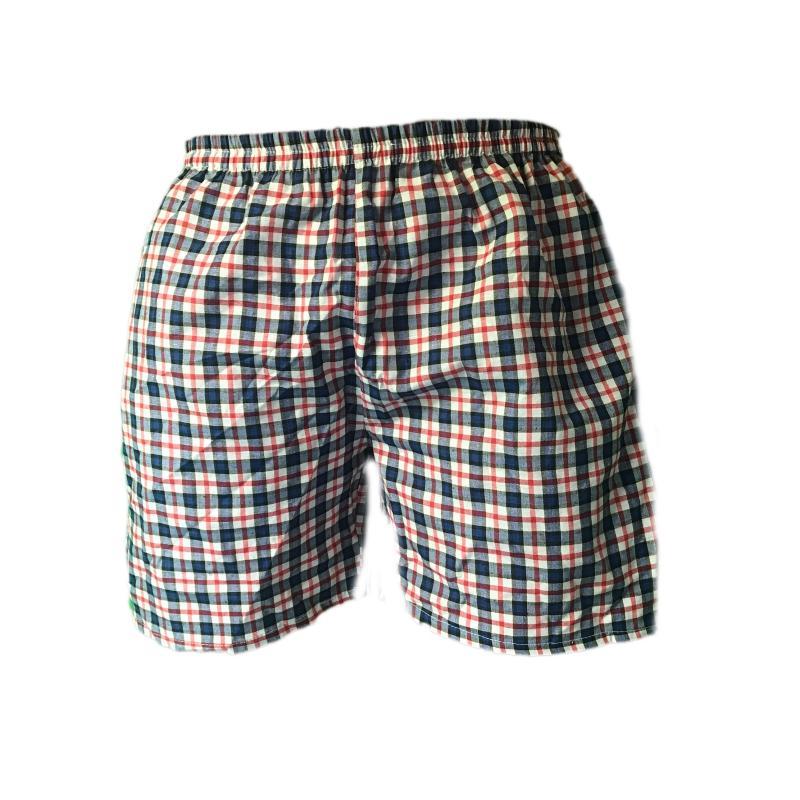 Quần đùi nam caro quần ngủ nam cotton thoáng mát QDN01 - 02 (nhiều màu)