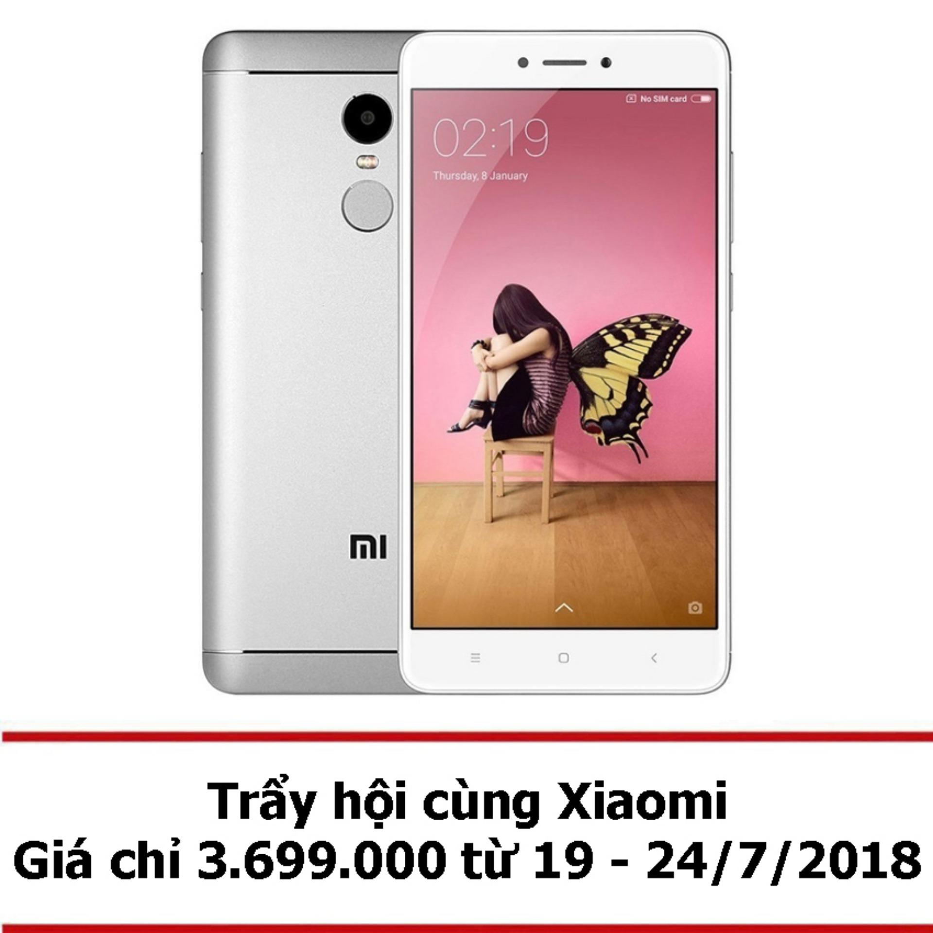 Xiaomi Redmi Note 4 32GB Ram 3GB (Xám) - Hãng phân phối chính thức