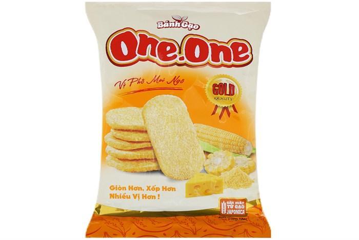 Bánh Gạo Vị Phô Mai Ngô One One 118g