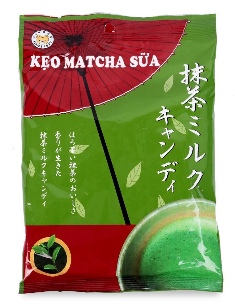 Kẹo Matcha Sữa Eikodo - Gói 120 G