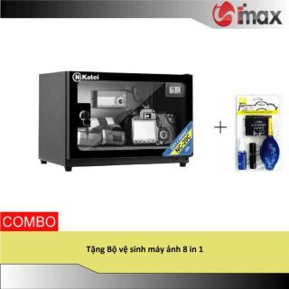 Tủ chống ẩm Nikatei NC-20 BLACK (20 lít) + Bộ vệ sinh máy ảnh 8 in 1 thumbnail