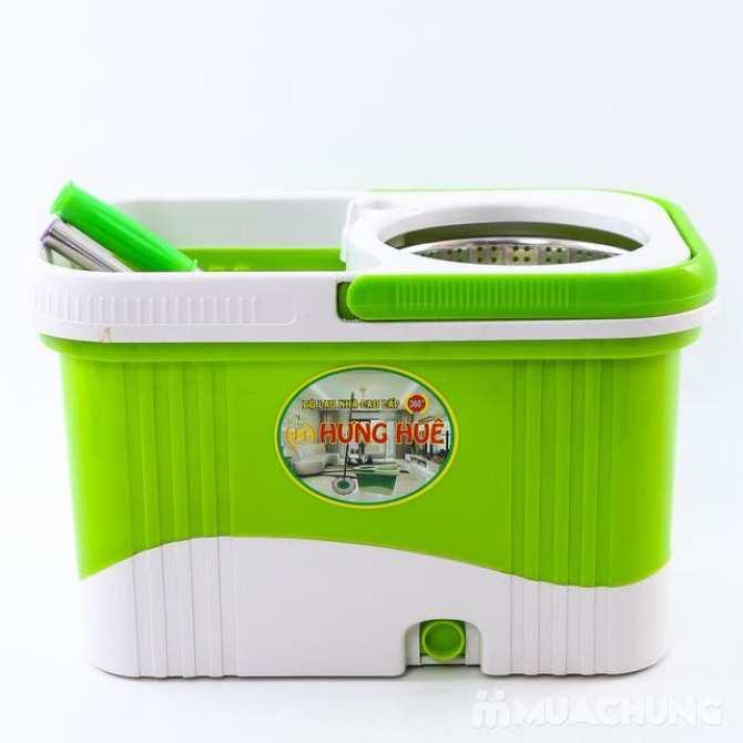 Bộ lau nhà xoay tay 360 độ tặng kèm 01 cuộn giấy bạc bọc thực phẩm