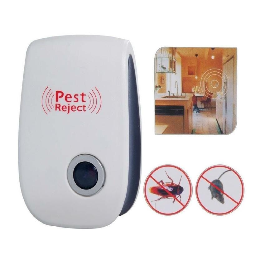 Máy Pest Reject đuổi côn trùng, chuột, gián,ruồi,muỗi thế hệ mới 2018
