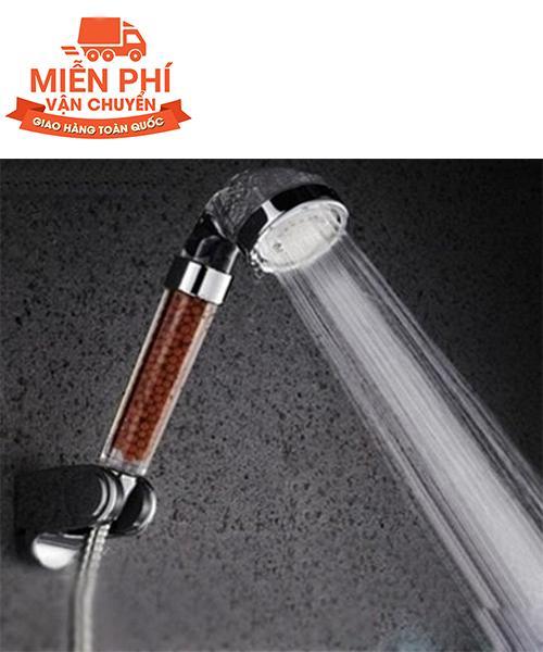 Bộ vòi tắm hoa sen tăng áp công nghệ nano kèm dây - Kmart