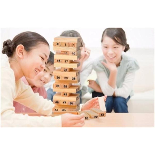 Bộ đồ chơi rút gỗ 54 thanh Wiss Toy ( loại nhỏ )