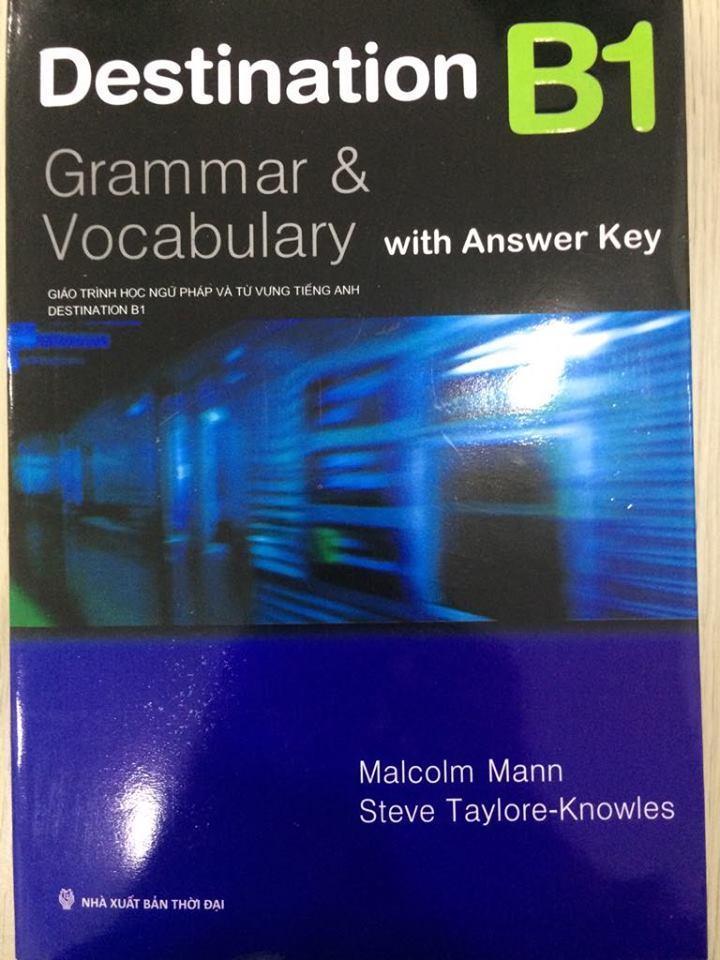 Sách - Destination Grammar & Vocabulary with Answer B1