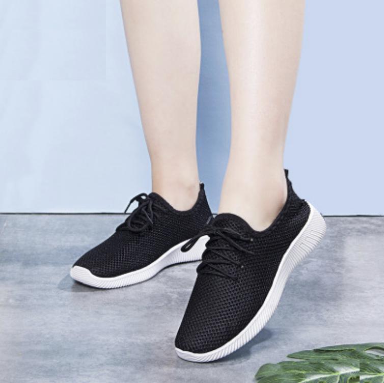 Giày Sneaker Thời Trang Nam Napas ( Đen-Đỏ )