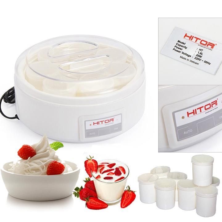 Máy làm sữa chua Hitops 16 cốc ( nhựa )
