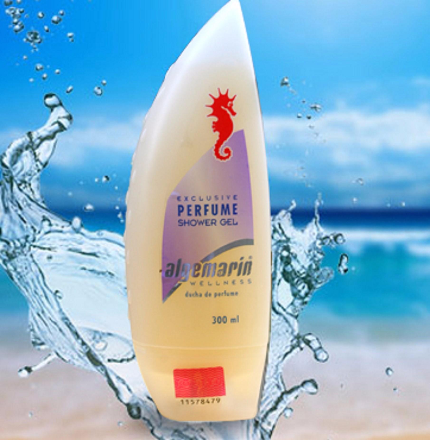 Sữa Tắm Cá Ngựa Algemarin Perfume Shower Gel 300ml - Nhập khẩu Đức