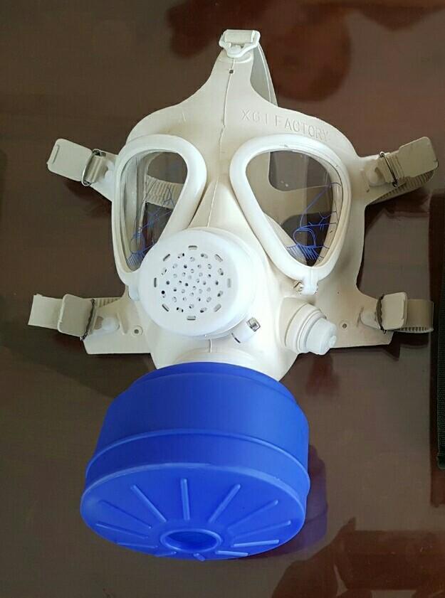 Mặt nạ chống khói độc khi xảy ra hỏa hoạn (mặt nạ phòng độc /mặt nạ phòng hỏa hoạn, cháy...