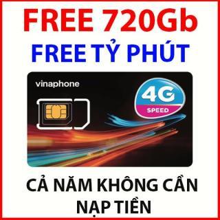 Sim 3g 4g vinaphone vd89 trọn gói cả năm tặng 720gb, miễn phí tỷ phút gọi thumbnail