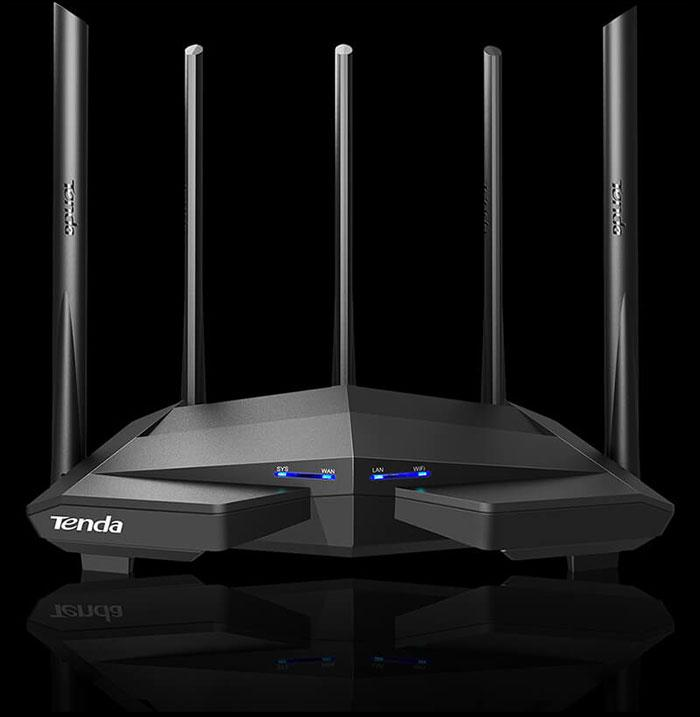 Bộ Phát Wifi Tenda AC11 AC 1200 Mp anten 6dbi/cpu 1GHz/ram 128 DDR3 phiên bản nâng cấp của tenda ac10 ( nhập khẩu )