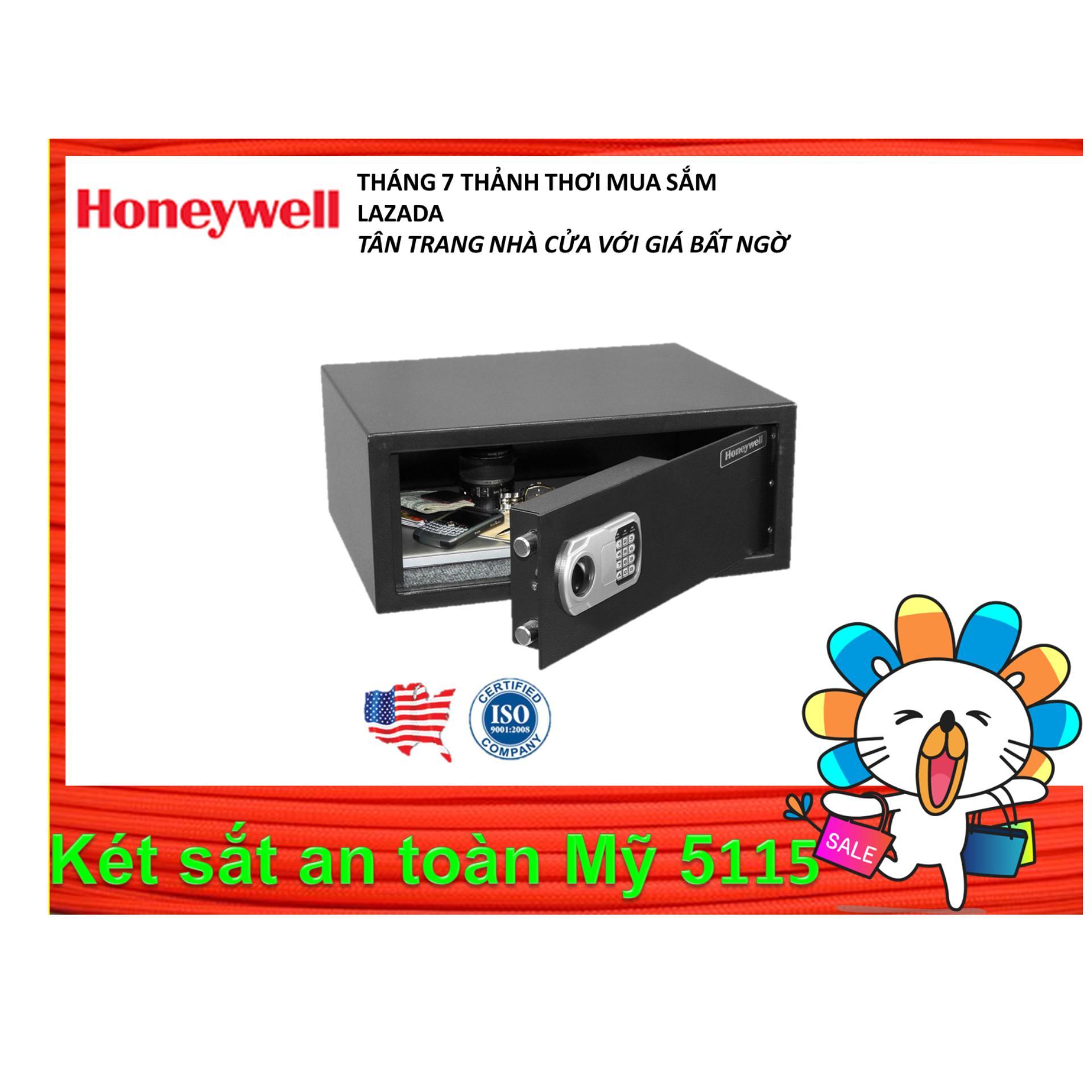 Két sắt an toàn Honeywell 5115 khoá điện tử ( Mỹ )