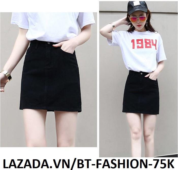Váy Ngắn Kaki  Thời Trang Hàn Quốc Mới - BT Fashion VA025