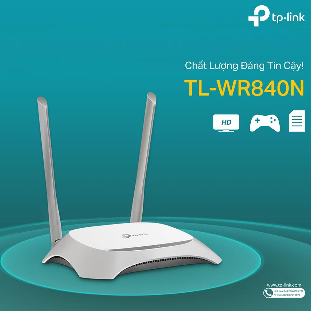 Router Wifi Tp Link Wr840n Trng Tl 300mbps Wirless 840n