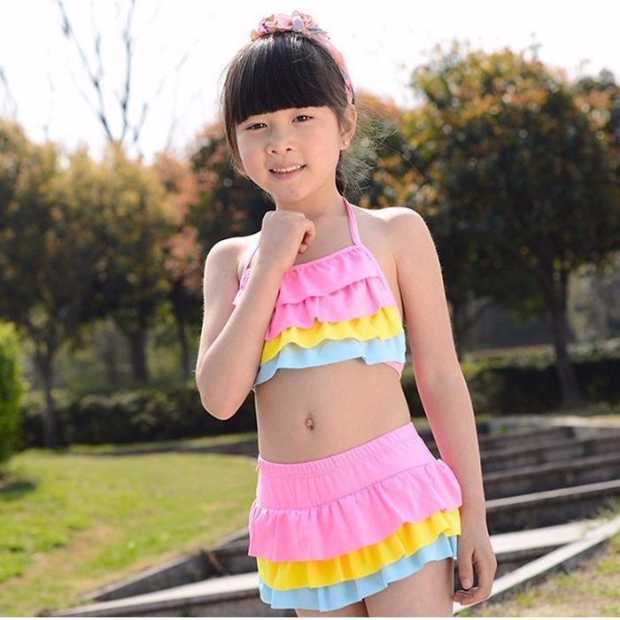 Đồ Bơi.bikini 2 Mảnh Cho Bé 14-24Kg.ql 2233