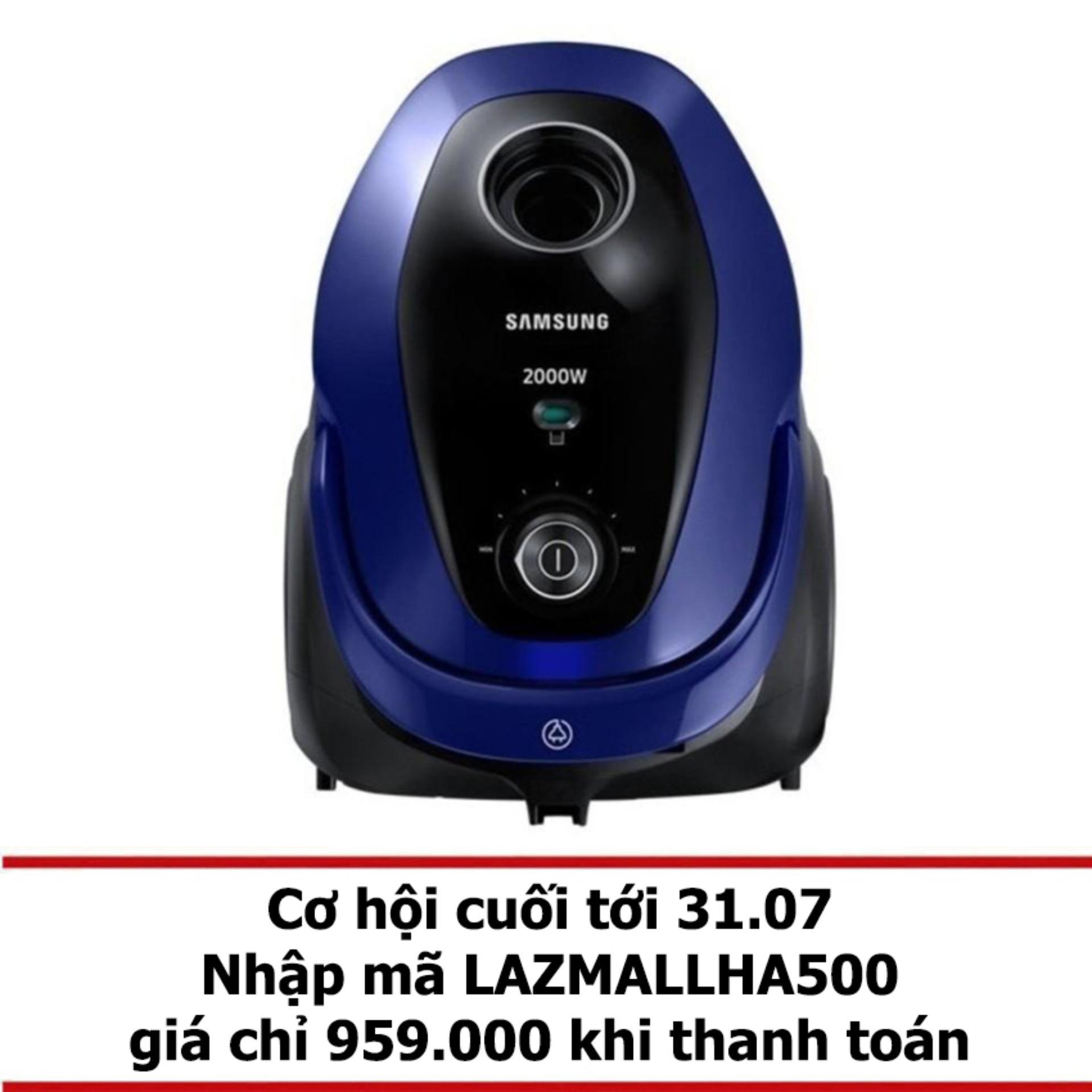 Máy Hút Bụi Samsung VC20M2510WB/SV (2.5 lít) Xanh