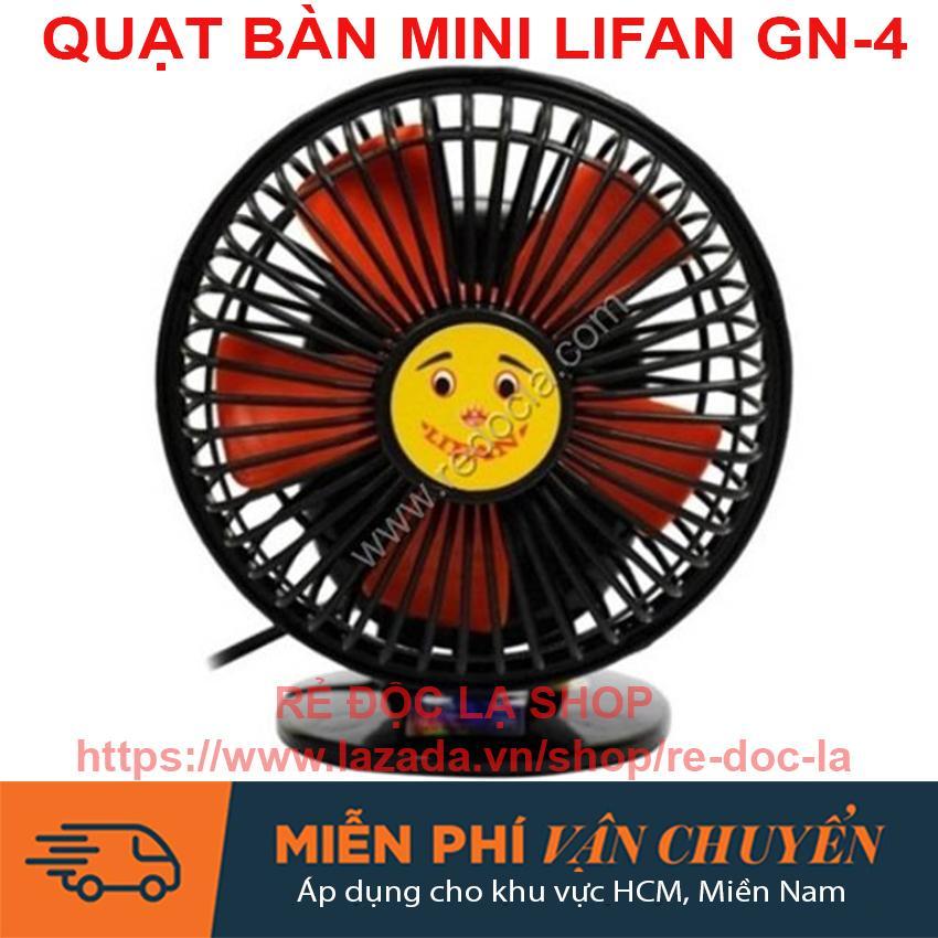 Quạt bàn mini Lifan GN-4 ( Màu ngẫu nhiên)
