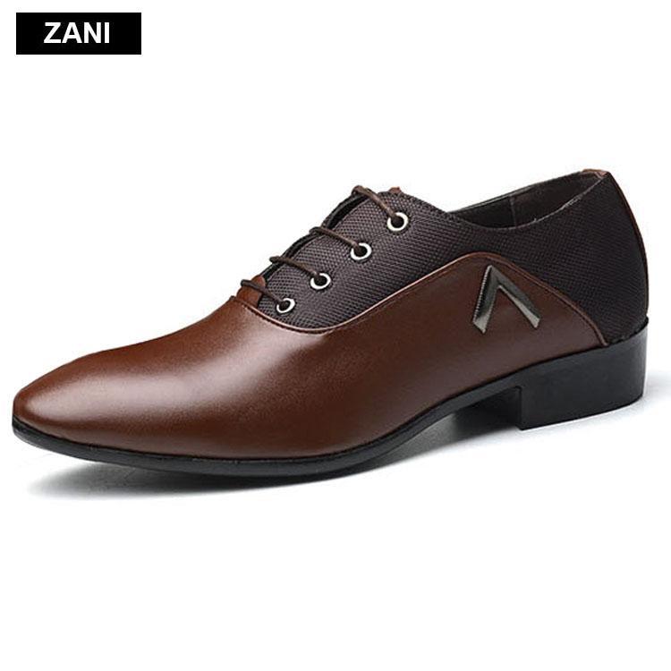 Giày Tây Nam Công Sở Kiểu Dây Buộc Zani Zm31998