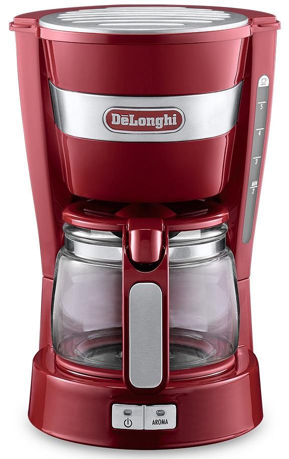 Máy pha cà phê drip Delonghi ICM14011.B/R/W