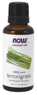 Tinh Dầu Sả Chanh, Now Foods Essential Oils Lemongrass 30ml thumbnail