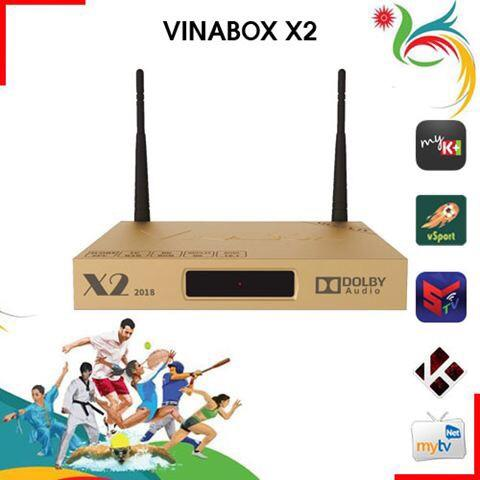 Andriod tivi box Vinabox X2 2018