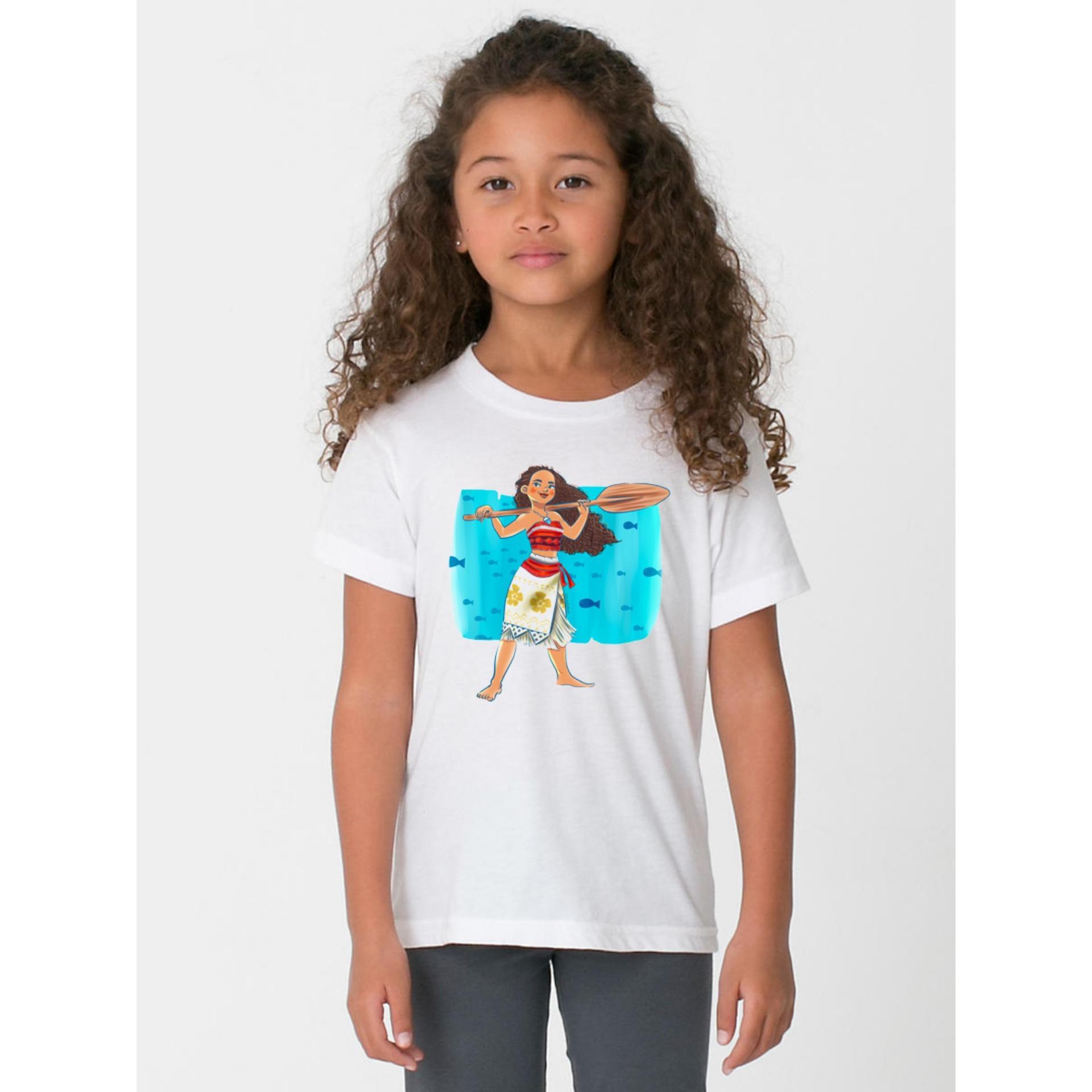 Áo Thun bé gái in hình chất liệu mềm mịn thoáng mát ESBG35